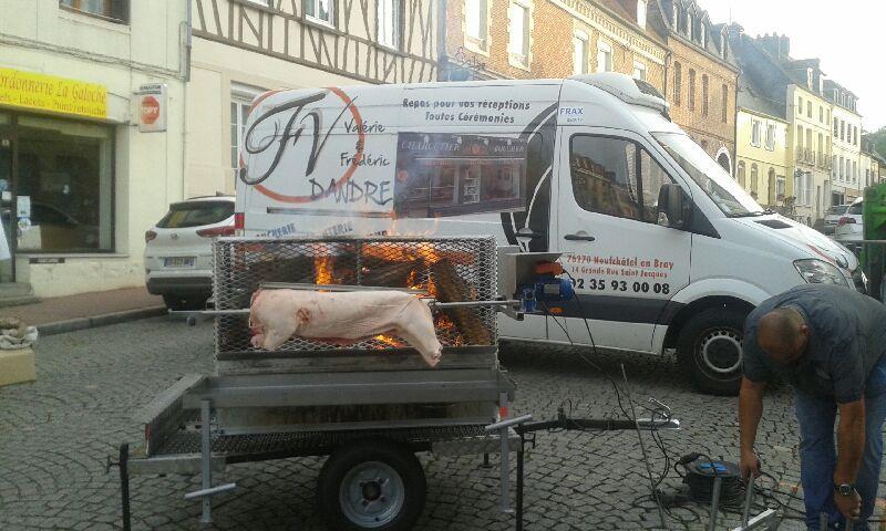 Boucherie Dandre - Grill au feu de bois